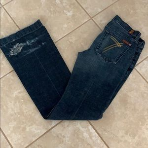 SEVEN FOR ALL MANKIND 29 JEANS USED